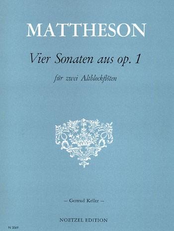 Vier Sonaten aus op. 1