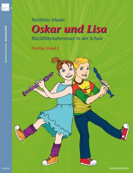Oskar und Lisa – Blockflötenabenteuer in der Schule, Band 2