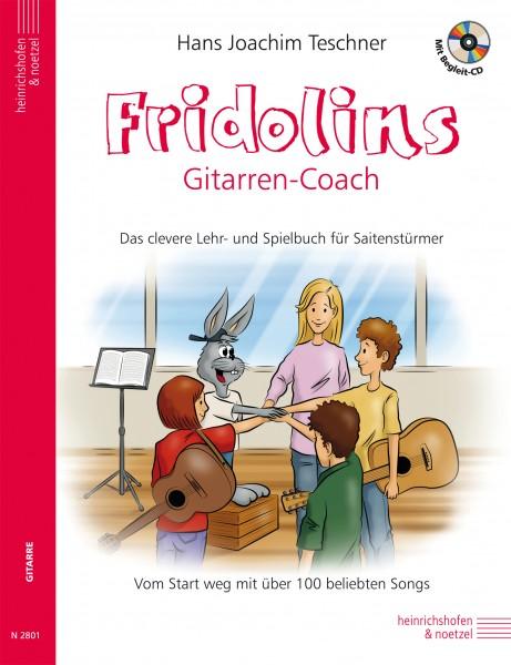 Fridolin: Fridolins Gitarren-Coach (mit CD)