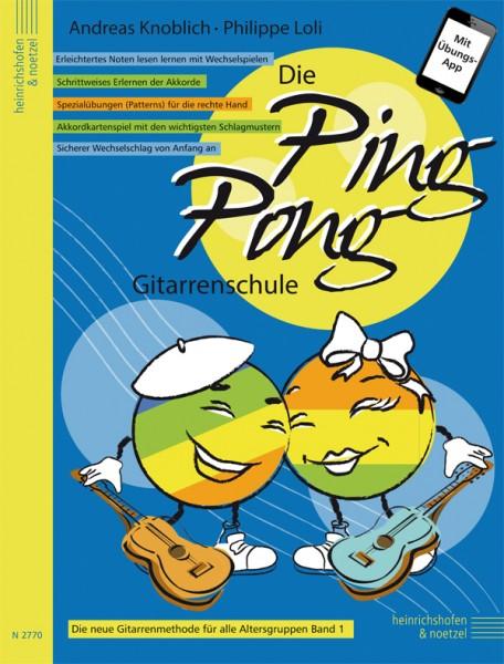 Die Ping Pong-Gitarrenschule