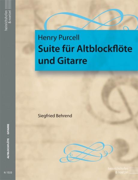 Suite für Altblockflöte und Gitarre