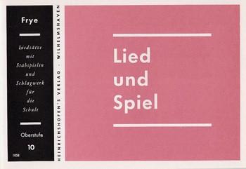 Lied und Spiel, Bd 10