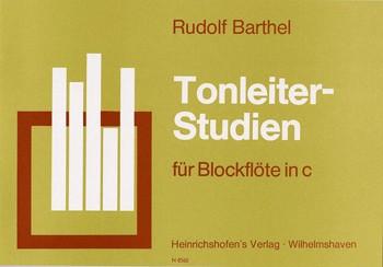 Tonleiter-Studien für Blockflöte.