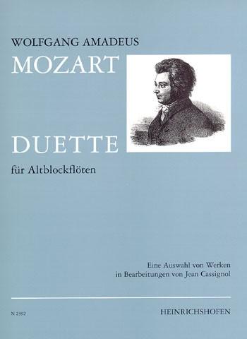 Duette für Altblockflöten