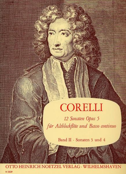 12 Sonaten für Altblockflöte und B.c., Heft 2
