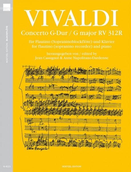 Concerto G-Dur, RV 312R
