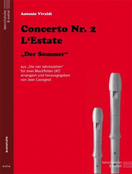 """Concerto Nr. 2 L'Estate """"Der Sommer"""""""