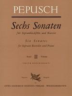 Sechs Sonaten , Bd 2