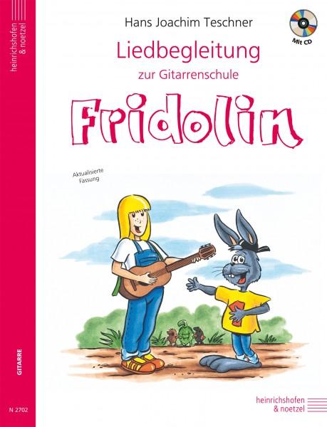 Fridolin: Liedbegleitung zur Gitarrenschule