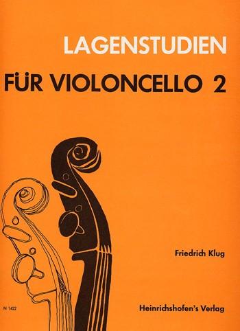 Lagenstudien für Violoncello, Bd 2