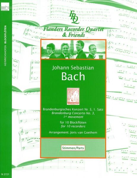 Brandenburgisches Konzert Nr. 3, 1. Satz