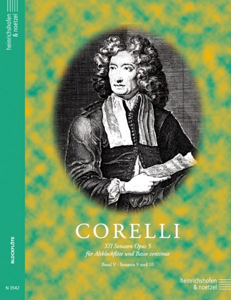 12 Sonaten für Altblockflöte und B.c., Heft 5
