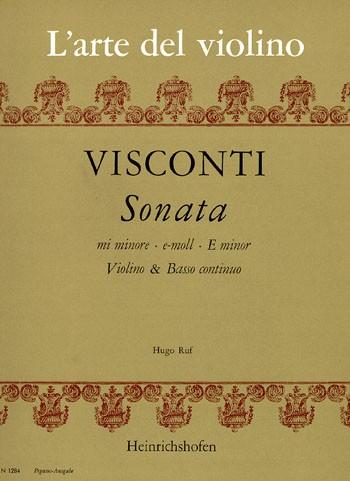 Sonata e-Moll