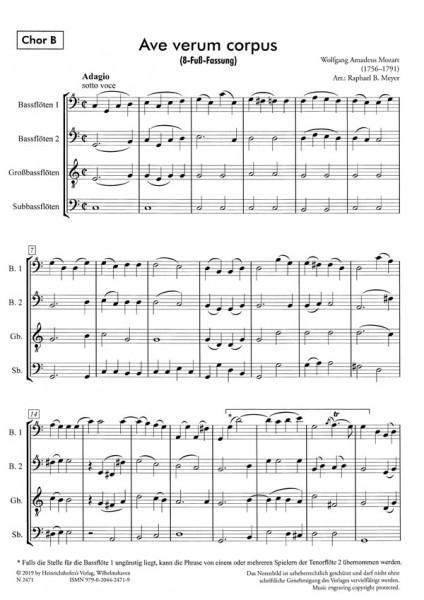 Ave verum corpus - Chor B