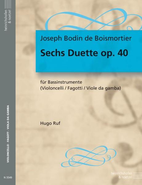 Sechs Duette op. 40