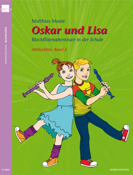 Oskar und Lisa - Blockflötenabenteuer in der Schule – Altblockflöte, Band 2