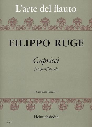 Capricci für Querflöte solo