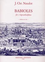 Babioles (um 1730)