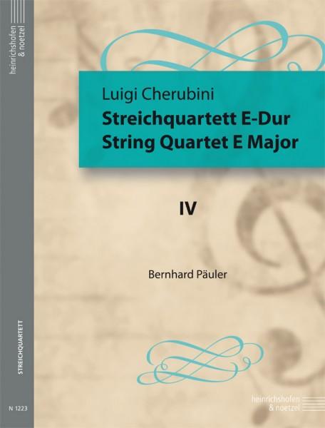 Streichquartett E-Dur