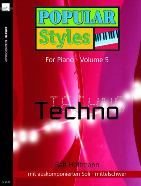 Popular Styles For Piano, Bd 5