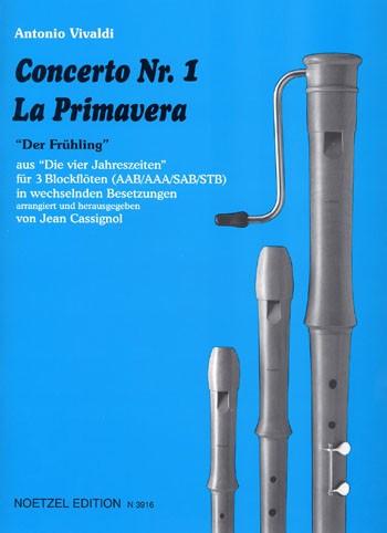 "Concerto Nr. 1 ""La Primavera"""