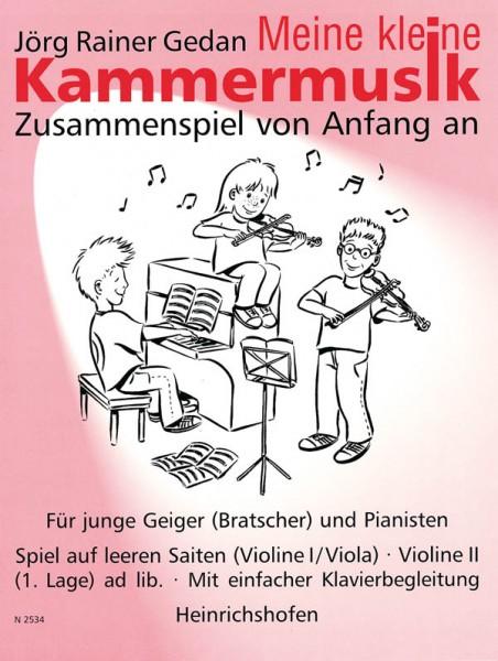 """""""Meine kleine Kammermusik"""", Bd 1"""