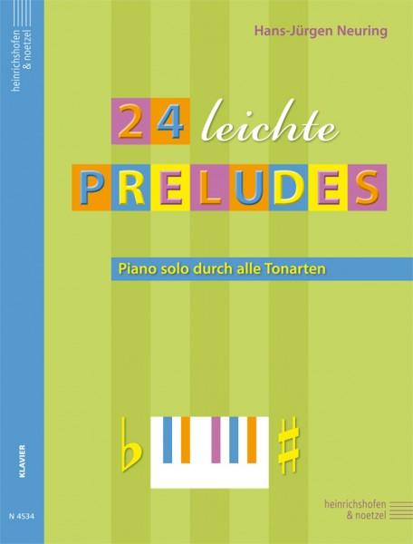 24 leichte Preludes