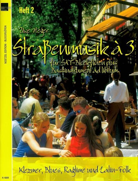 Straßenmusik à 3, Band 2 (SAT-Blockflöten)