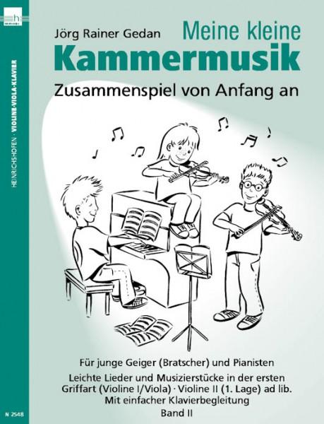"""""""Meine kleine Kammermusik"""", Bd 2"""