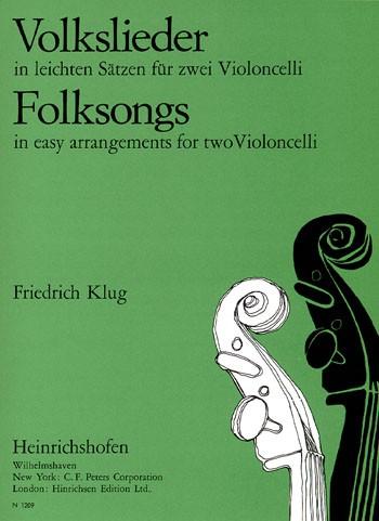 Volkslieder in leichten Sätzen