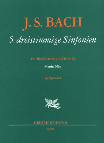 5 dreistimmige Sinfonien