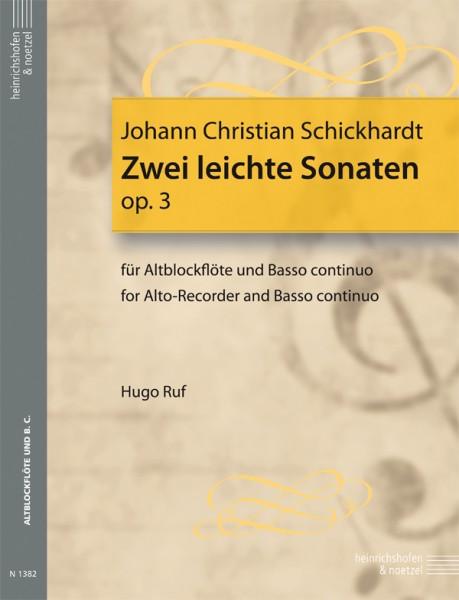 2 leichte Sonaten (F-Dur, a-Moll)