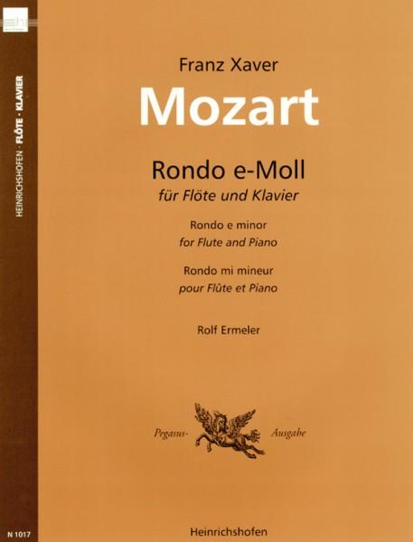 Rondo e-Moll für Flöte und Klavier