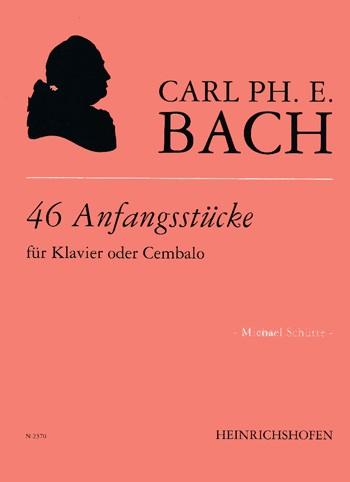 46 Anfangsstücke für Klavier / Cembalo