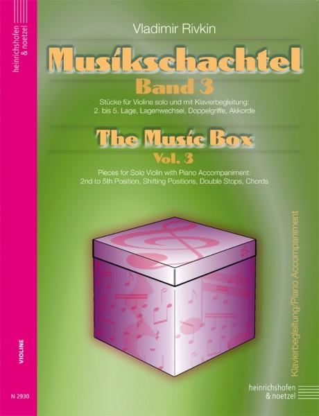 Musikschachtel - Band 3, Klavierbegleitung
