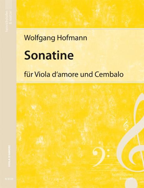 Sonatine für Viola d'amore und Cembalo