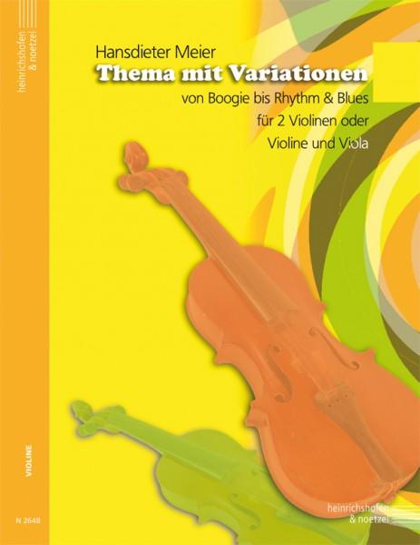 Thema mit Variationen von Boogie bis Rhythm & Blues