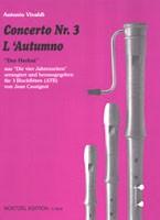 """Concerto Nr. 3 """"L'Autunno"""""""