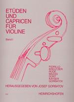 Etüden und Capricen, Bd 1
