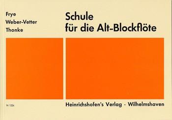Schule für die Alt-Blockflöte