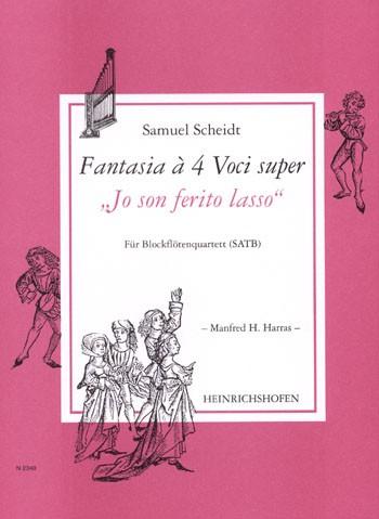 """Fantasia à 4 Voci super """"Jo son ferito lasso"""""""