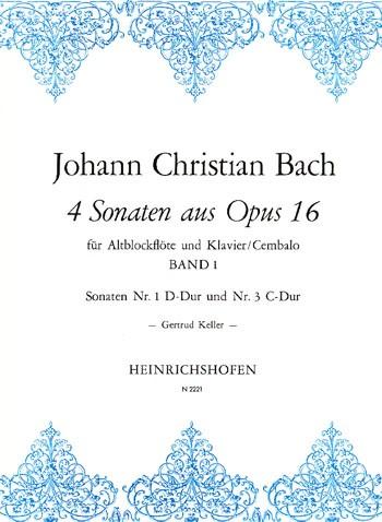 4 Sonaten aus Opus 16, Bd 1