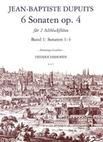 6 Sonaten für 2 Altblockflöten, Heft 1