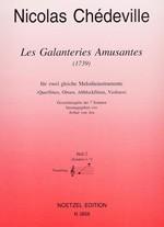 Les Galanteries Amusantes (1739), Heft 2