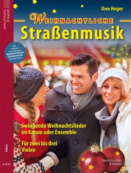Weihnachtliche Straßenmusik (Viola)