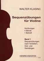 Sequenzübungen für Violine, Bd 1