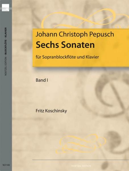 Sechs Sonaten , Bd 1