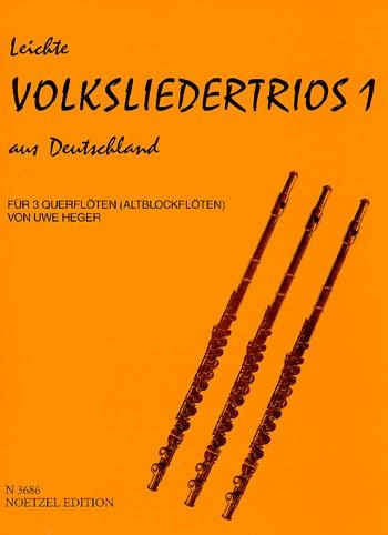 Leichte Volkslieder-Trios 1 aus Deutschland