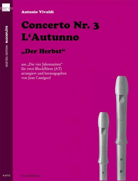 "Concerto Nr. 3 L'Autunno ""Der Herbst"""