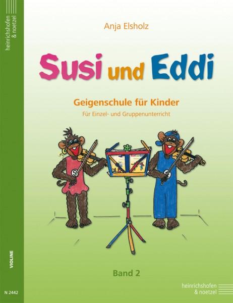 Susi und Eddi: Band 2. Geigenschule für Kinder